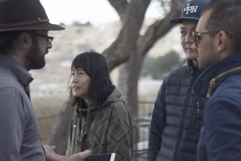 Filming with Taiwan agency Albert Lan Creative
